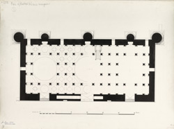 Ahmadabad: Plan of Haibat Khan's mosque